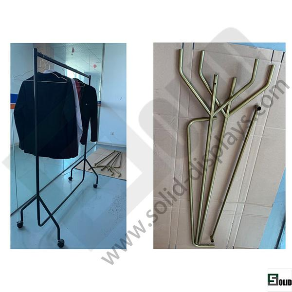 fashion clothing display rack